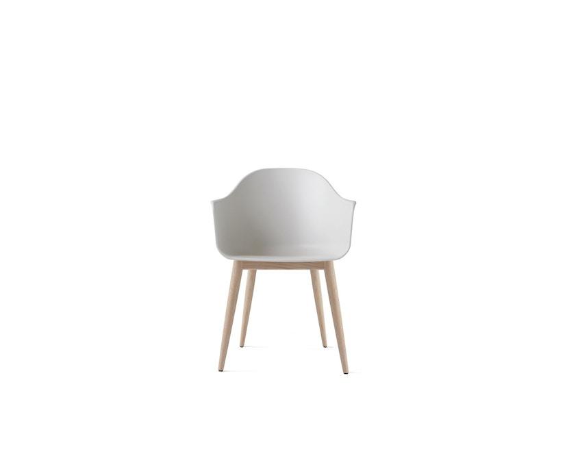 Menu - Harbour Stuhl mit Holzsockel - Eiche/weiß - 0