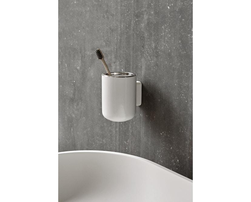 Menu - Zahnbürstenhalter Wand - weiß - 3