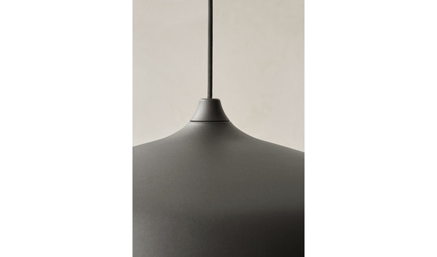 Menu - Circular Lamp - Black Aluminium - 5