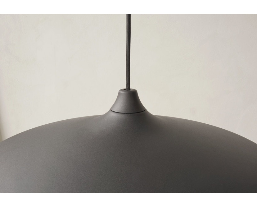 Menu - Circular Lamp - Black Aluminium - 6