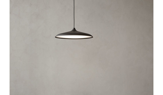 Menu - Circular Lamp - Black Aluminium - 7