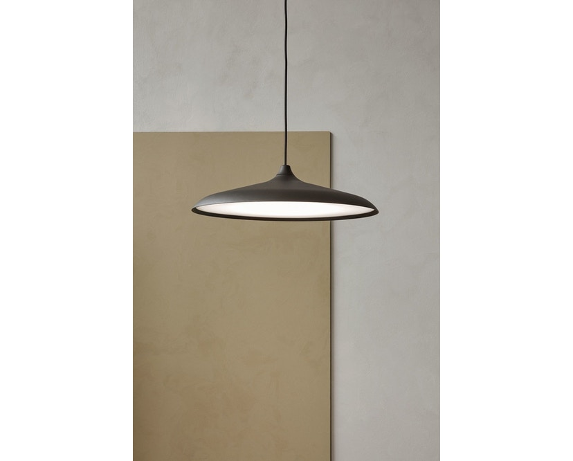 Menu - Circular Lamp - Black Aluminium - 4