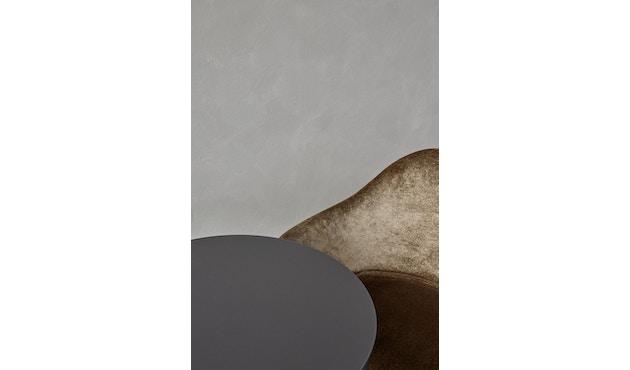Menu - Harbour Column Counter Table Ø80cm, Höhe 92,7cm - Charcoal Linoleum - 4