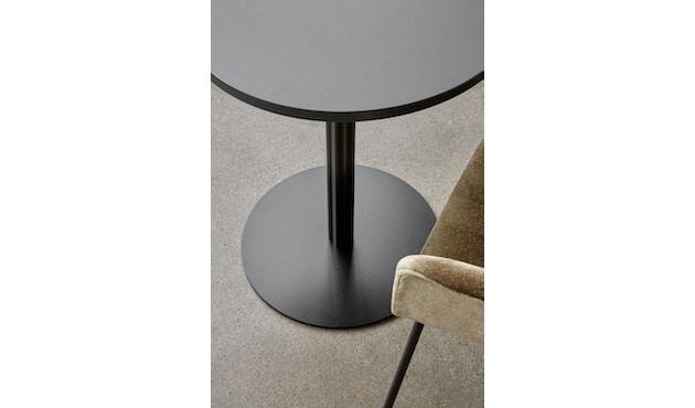 Menu - Harbour Column Counter/Bar Table Ø60cm - Charcoal Linoleum - 92,7cm - 3