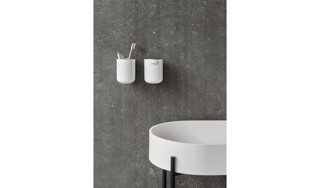 Menu - Zahnbürstenhalter Wand - weiß - 4