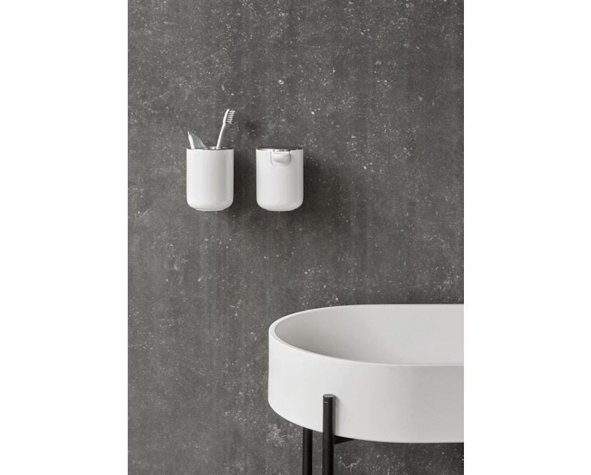 Menu - Zahnbürstenhalter Wand - schwarz - 3