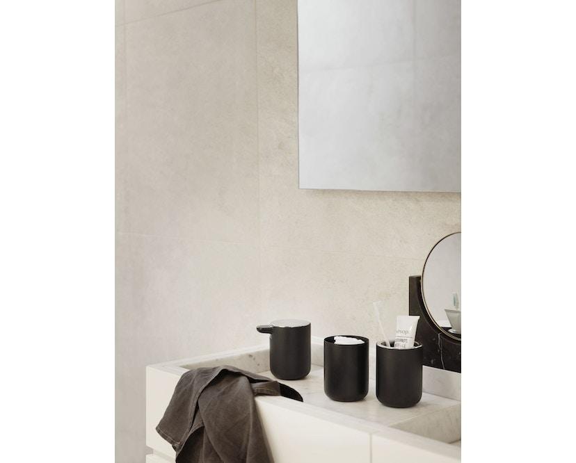 Menu - Seifenspender Wand - schwarz - 4