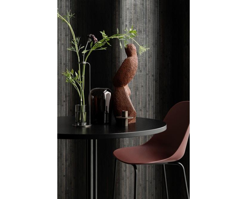 Menu - Harbour Column Counter Table Ø80cm, Höhe 92,7cm - Charcoal Linoleum - 2