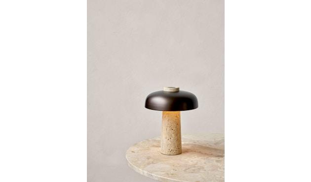 Reverse Tischleuchte - Bronzed Brass