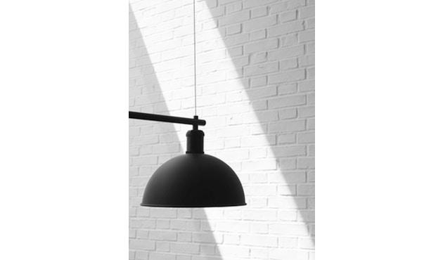 Menu - Hubert Suspension Frame - schwarz / bronziertes Messing - 5