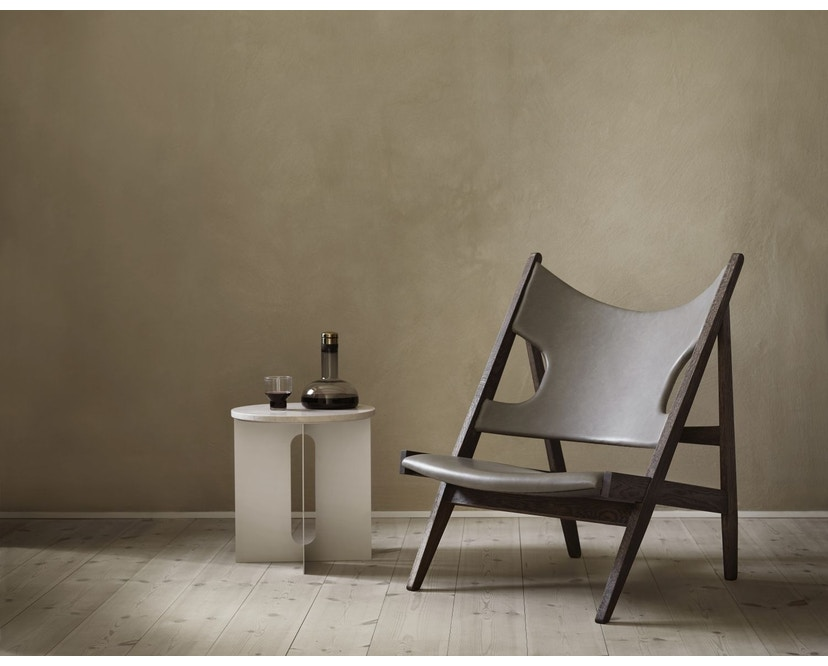 Menu - Knitting Lounge Chair - Eiche, dunkel gebeizt - 8