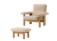 Brasilia Lounge Chair und Ottoman