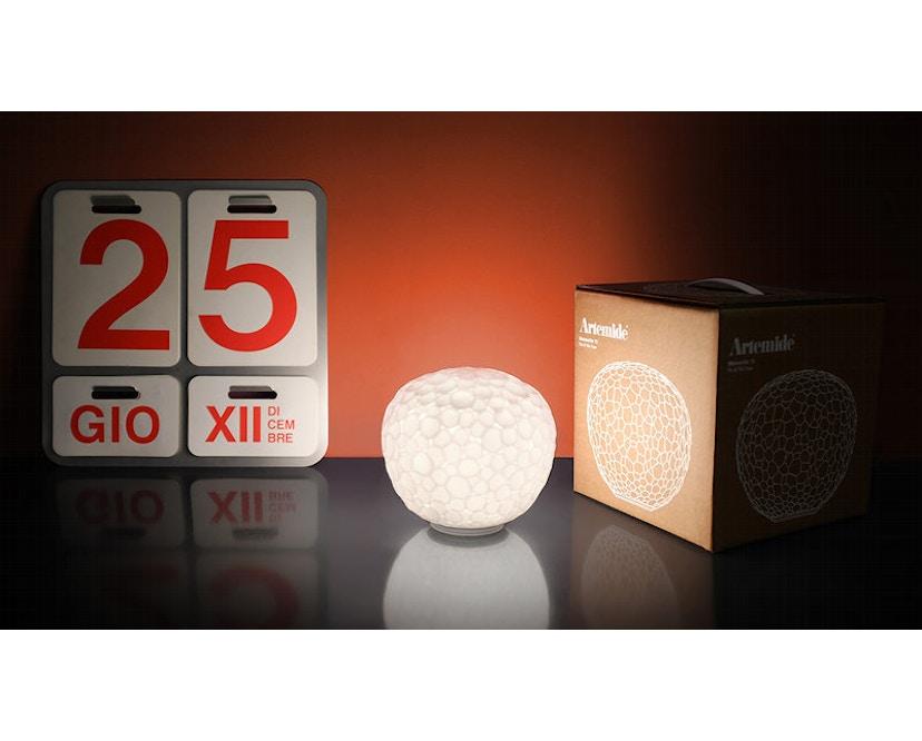 Artemide - Meteorite tavolo - weiß - 35 - 5