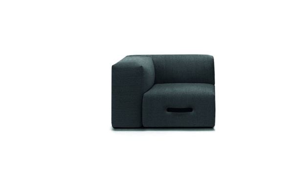 Conmoto - MIAMI Sofa Eckmodul links - hellgrau - 1