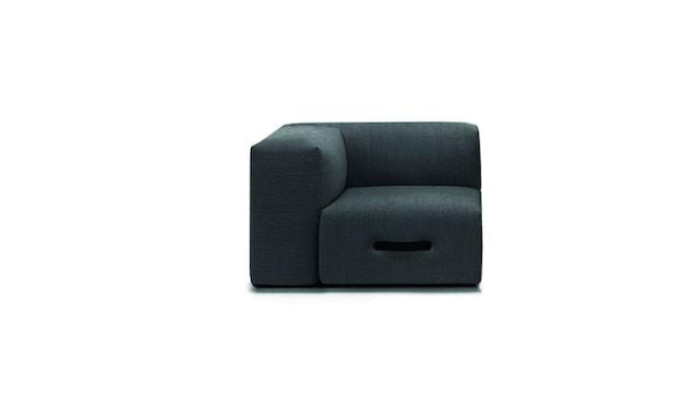 Conmoto - MIAMI Sofa hoekmodule  - links - lichtgrijs - 1