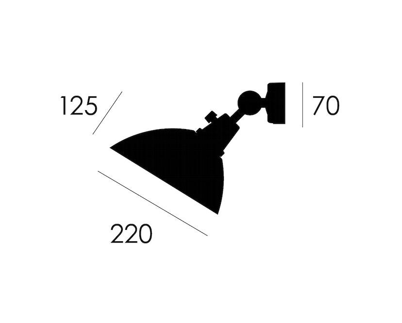 Midgard - Modular 555 Wandspot - schwarz - 3