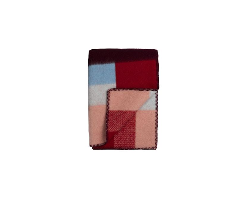 Roros Tweed - Mikkel Decke - red - 1