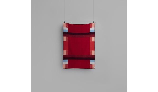 Roros Tweed - Mikkel Decke - red - 2