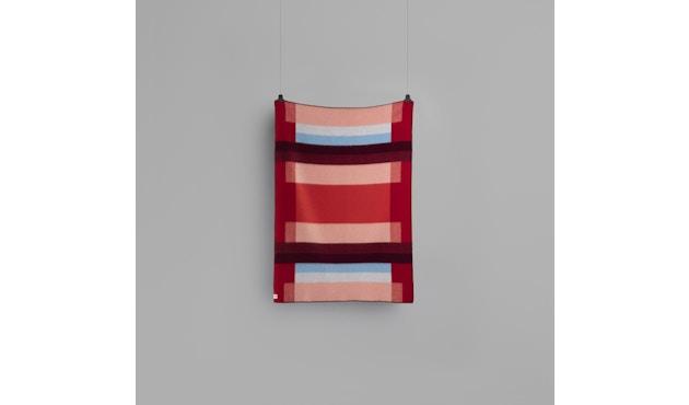 Roros Tweed - Mikkel Decke - red - 3