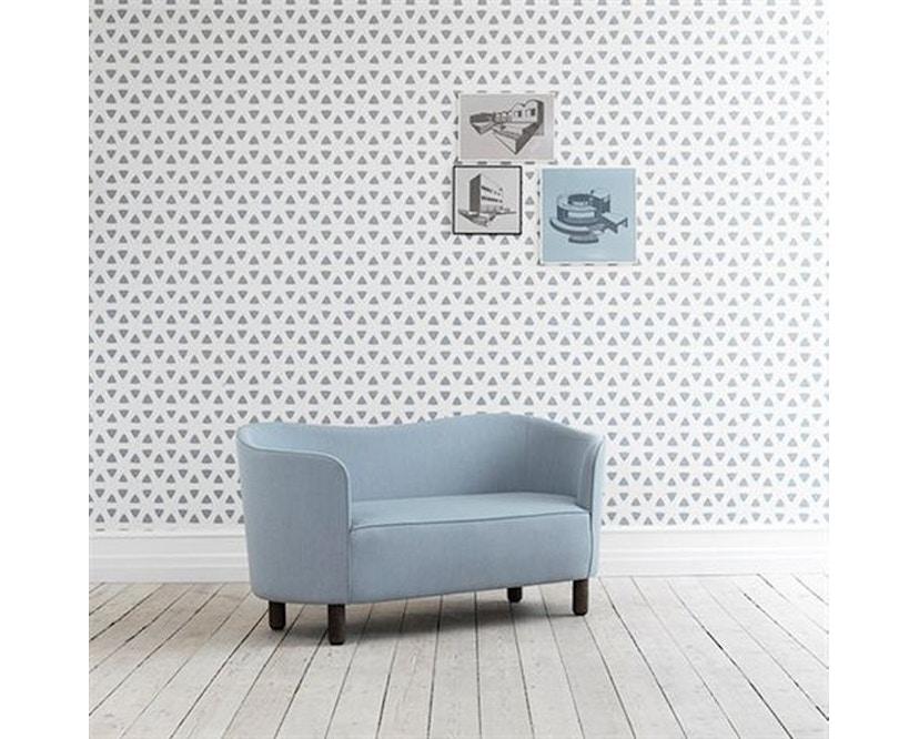 by Lassen - Mingle 2-Sitzer  Sofa - Hallingdal65 Farbe 190, Beine Eiche natur - 5