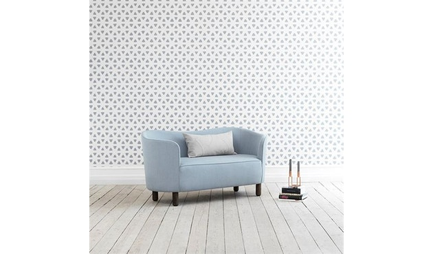 by Lassen - Mingle 2-Sitzer  Sofa - Hallingdal65 Farbe 190, Beine Eiche natur - 6
