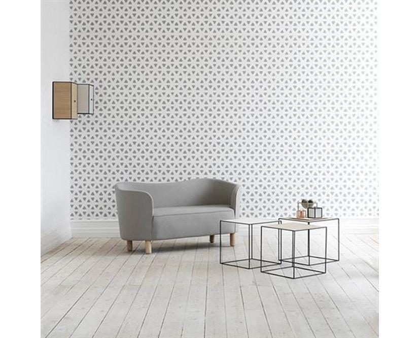 by Lassen - Mingle 2-Sitzer  Sofa - Hallingdal65 Farbe 190, Beine Eiche natur - 7