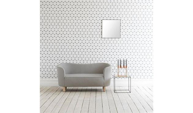 by Lassen - Mingle 2-zitsbank - Hallingdal 190 - zwart - 8