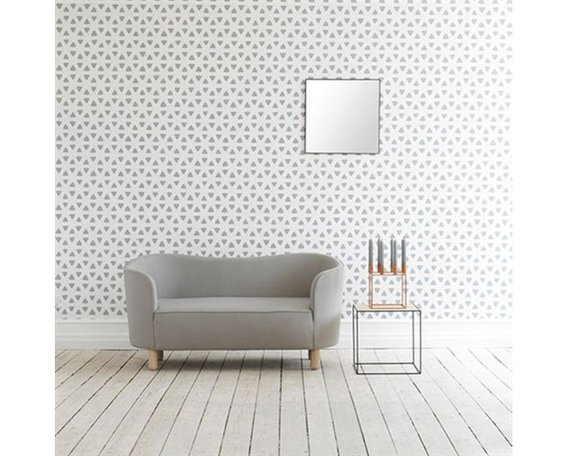 by Lassen - Mingle 2-Sitzer  Sofa - Hallingdal65 Farbe 190, Beine Eiche natur - 8