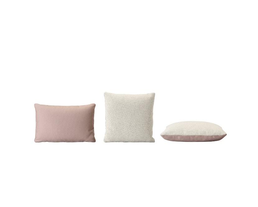 Muuto - Mingle Kissen - 60 x 40 - rosa - 3