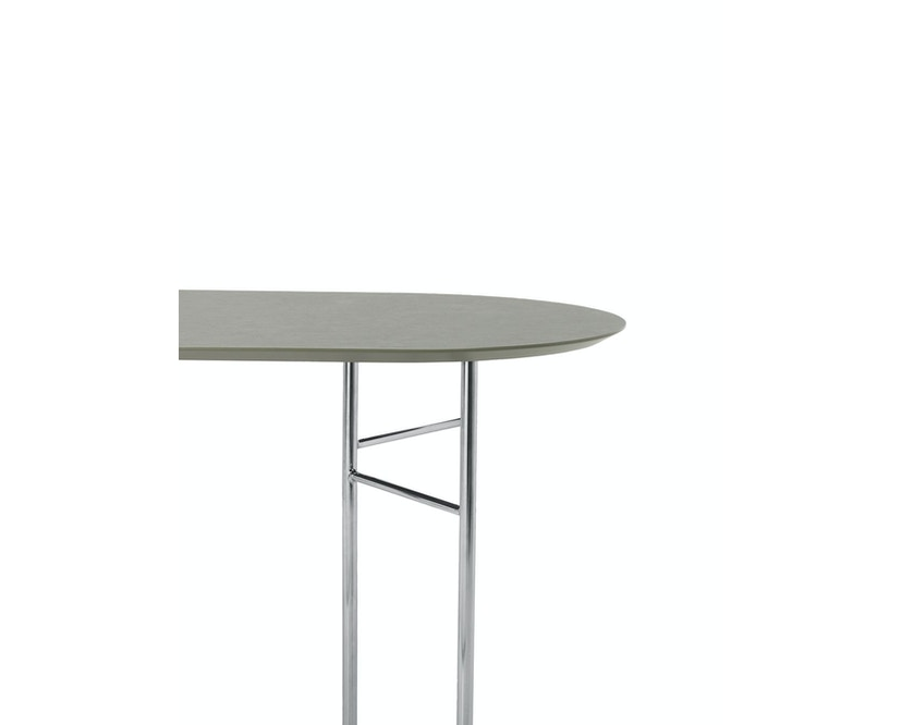 ferm LIVING - Mingle Tischplatte oval - tarkett - 150 cm - 1