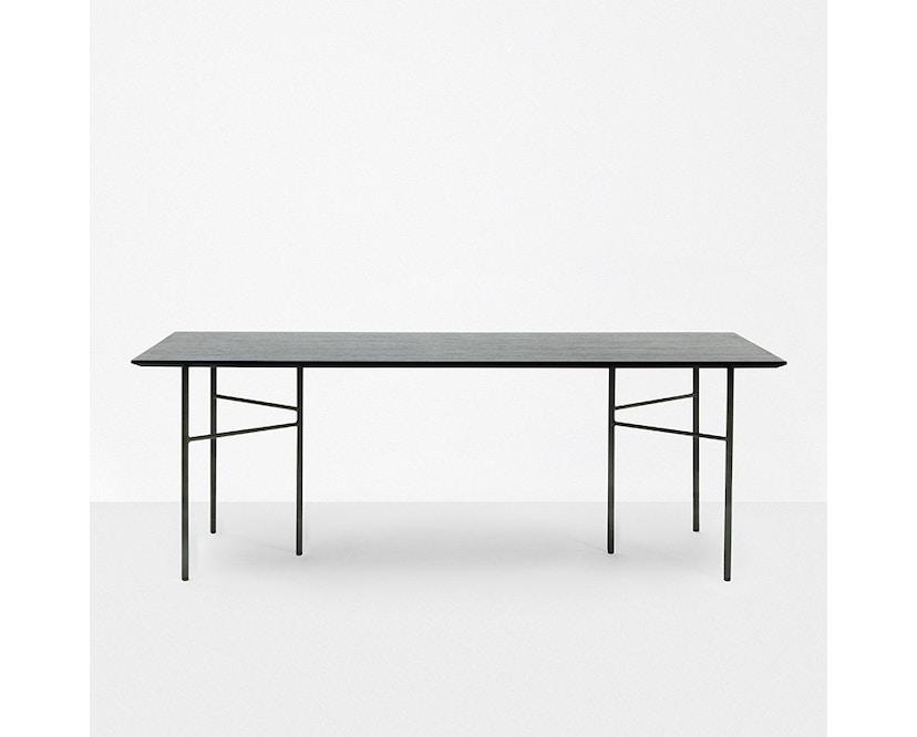 ferm LIVING - Mingle Schreibtischplatte - Linoleum grün - 135 cm x 65 cm - 3
