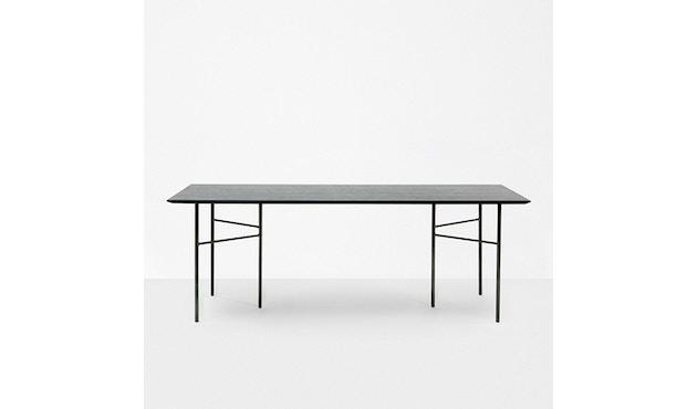 ferm LIVING - Mingle Schreibtischplatte - Furnier schwarz - 135 cm x 65 cm - 2