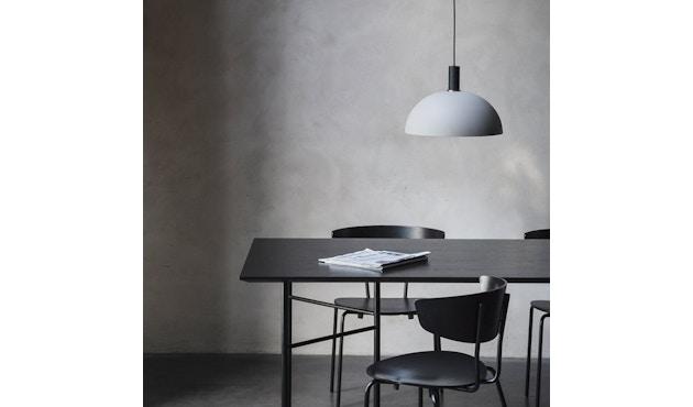 ferm LIVING - Mingle Schreibtischplatte - Furnier schwarz - 135 cm x 65 cm - 3