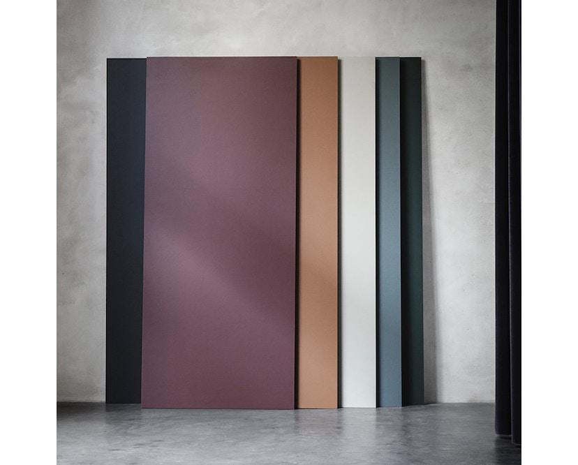ferm LIVING - Mingle Schreibtischplatte - Furnier schwarz - 135 cm x 65 cm - 4