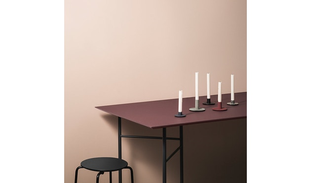 ferm LIVING - Mingle Tischplatte - Furnier schwarz - 160 cm x 90 cm - 5