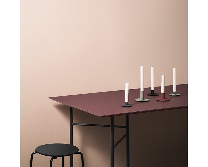 ferm LIVING - Mingle Schreibtischplatte - Furnier schwarz - 135 cm x 65 cm - 5