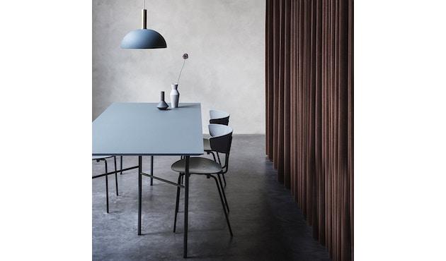 ferm LIVING - Mingle Schreibtischplatte - Furnier schwarz - 135 cm x 65 cm - 6
