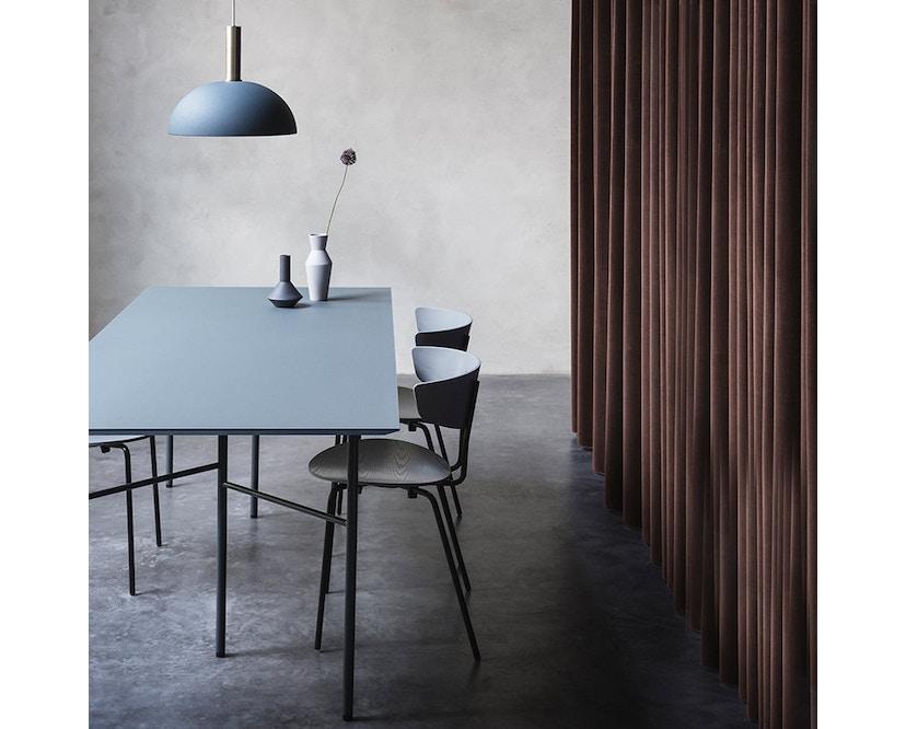 ferm LIVING - Mingle Tischplatte - Furnier schwarz - 160 cm x 90 cm - 6