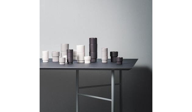 ferm LIVING - Mingle Schreibtischplatte - Furnier schwarz - 135 cm x 65 cm - 7