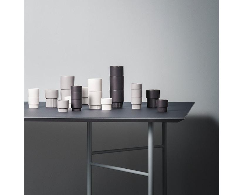 ferm LIVING - Mingle Tischplatte - Furnier schwarz - 160 cm x 90 cm - 7