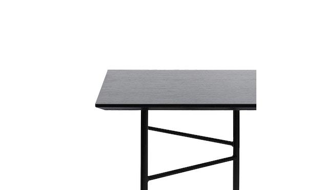 ferm LIVING - Mingle Schreibtischplatte - Furnier schwarz - 135 cm x 65 cm - 1