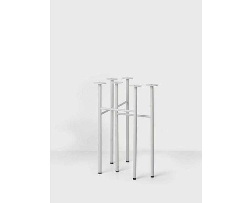 ferm LIVING - Supports de table Mingle Tischböcke (Set de 2) - W68 - gris clair - 1
