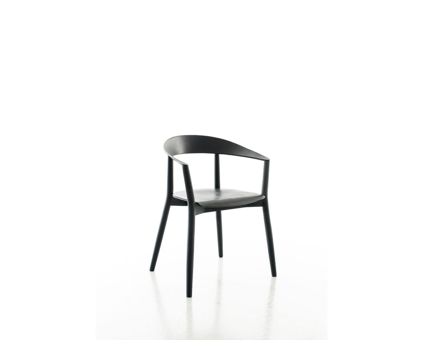 Conmoto - MITO Armlehnstuhl  - Esche - schwarz - 1