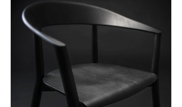 Conmoto - MITO Armlehnstuhl  - Esche - schwarz - 9