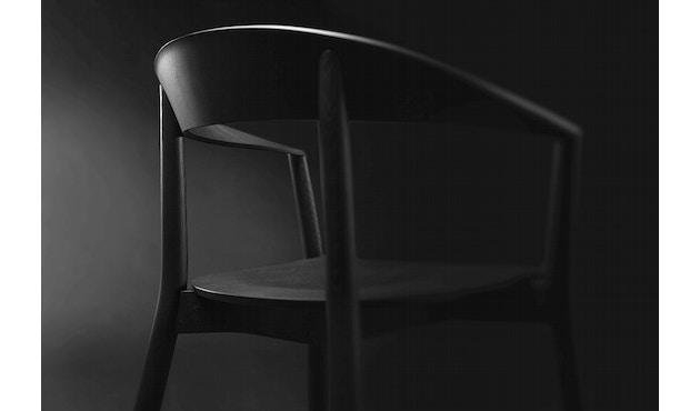Conmoto - MITO Armlehnstuhl  - Esche - schwarz - 10