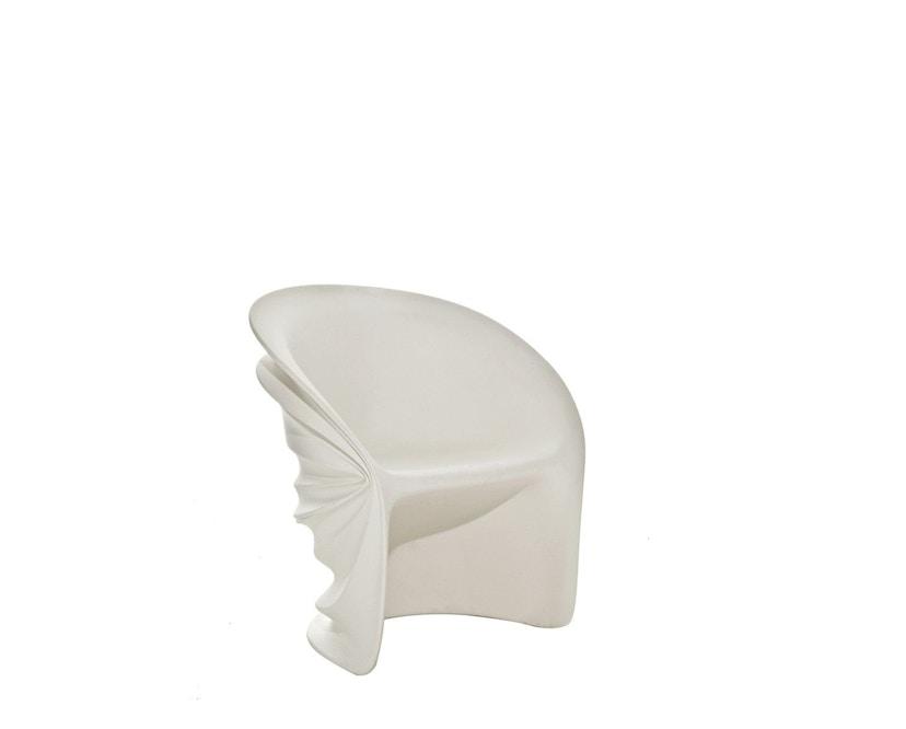 Driade - Modesty Veiled Outdoor Armlehnstuhl - weiß - 1