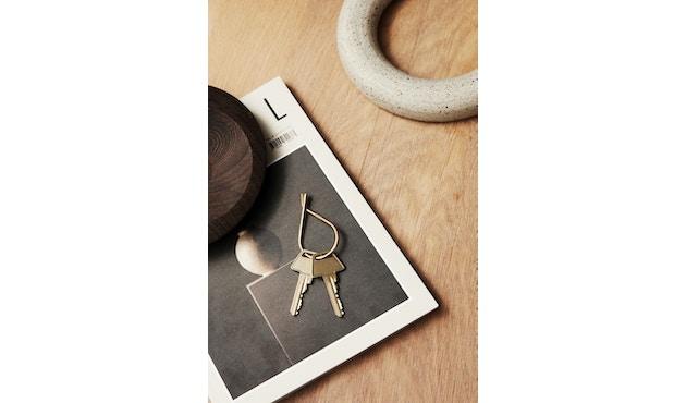 Schlüsselring - messing