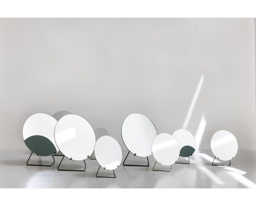 Tischspiegel - Messing - Ø 20_Moebe_