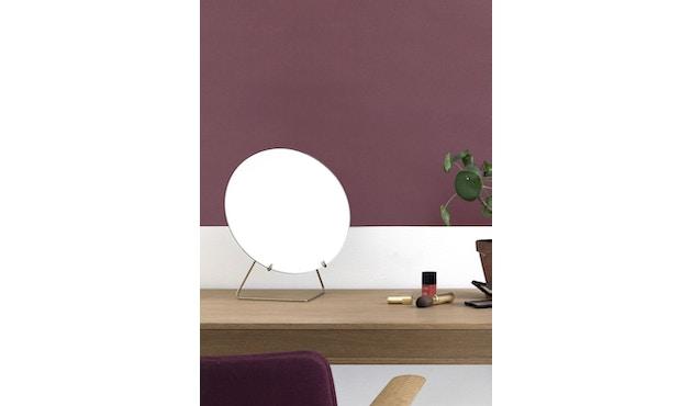Tischspiegel - Schwarz - Ø 30_Moebe_
