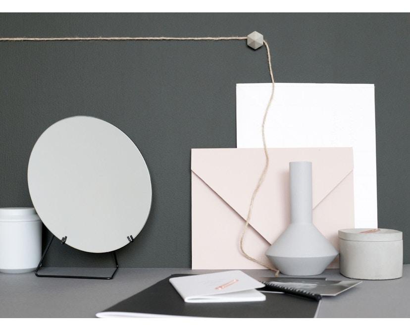 Tischspiegel - Schwarz - Ø 20_Moebe_